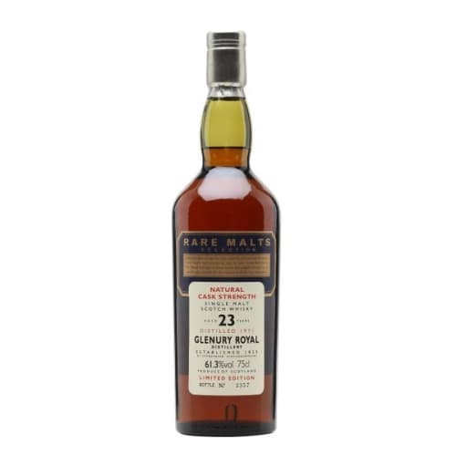 Single Malt Scotch Whisky Natural Cask Strength Rare Malts Selection 23 years   Glenury Royal 1971 – 700mL