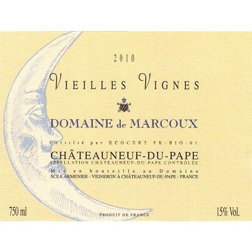 Châteauneuf-du-Pape Vieilles Vignes Domaine de Marcoux 2010 – 750mL