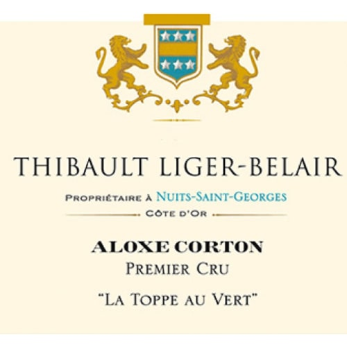 Aloxe-Corton 1er cru La Toppe au Vert Thibault Liger-Belair 2013 – 750mL
