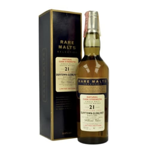 Single Malt Scotch Whisky Natural Cask Strength Rare Malts Selection  Dufftown-Glenlivet – 700mL