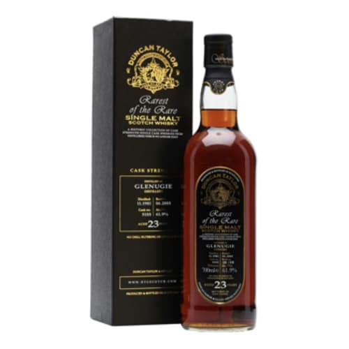 Single Malt Scotch Whisky Rarest of the Rare Duncan Taylor 23 years  Glenugie 1981 – 700mL