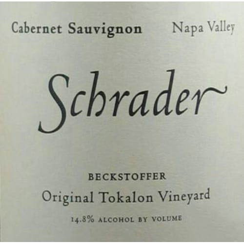 Cabernet-Sauvignon Napa Valley Beckstoffer To Kalon Vineyard Schrader Cellars 2016 – 750mL