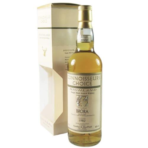 Highlands Single Malt Scotch Whisky Brora Connoisseurs Choice Gordon & Mac Phail 1982 – 700mL