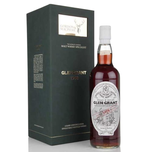 Highland Single Malt Scotch Whisky Glen Grant  Gordon & Mac Phail 1958 – 700mL