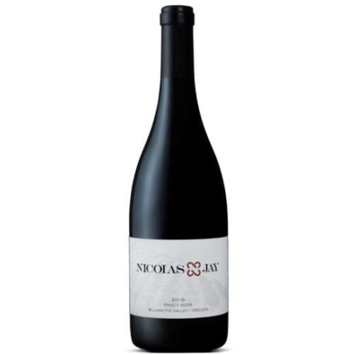 Pinot noir Willamette Valley Domaine Nicolas-Jay 2015 – 750mL
