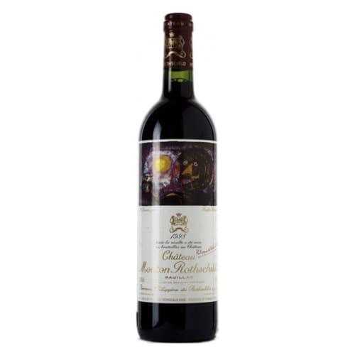 Pauillac 1er grand cru classé Château Mouton Rothschild 1998 – 750mL