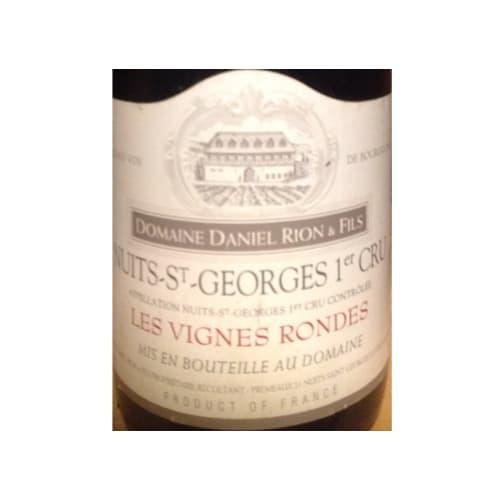 Nuits-Saint-Georges Les Vignes Rondes 1er cru Domaine Daniel Rion & Fils 1990 – 750mL