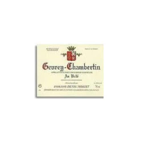 Gevrey-Chambertin Au Vellé Domaine Denis Mortet 2002 – 750mL