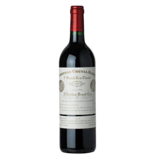 Saint-Emilion Grand Cru 1er grand cru classé «A» Château Cheval Blanc 1995 – 750mL