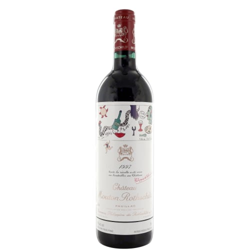 Pauillac 1er grand cru classé Château Mouton Rothschild 1997 – 750mL