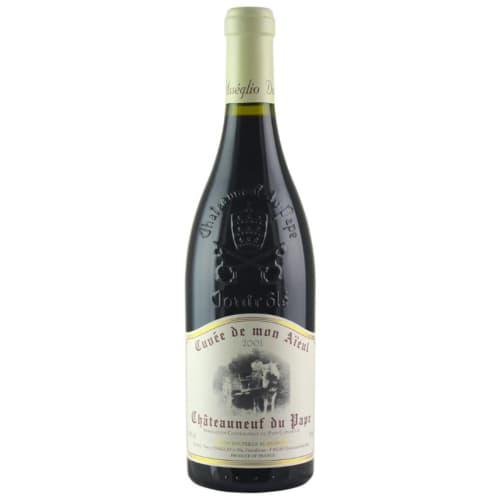 Châteauneuf-du-Pape Cuvée de mon Aïeul Domaine Pierre Usseglio & Fils 2001 – 750mL