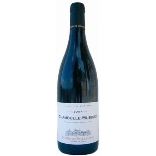 Chambolle-Musigny Domaine Henri de Villamont 2009 – 750mL