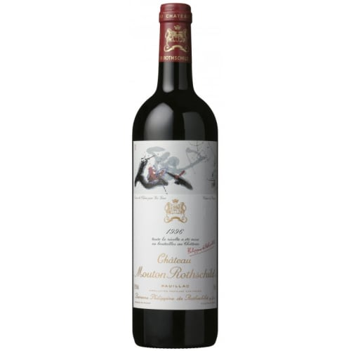 Pauillac 1er grand cru classé Château Mouton Rothschild 1996 – 750mL