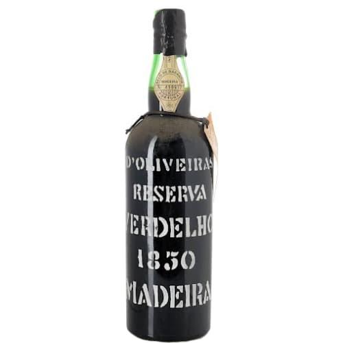 Verdelho Madeira Reserva D'Oliveiras 1850 – 750mL
