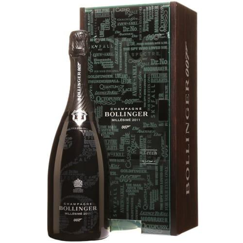 Champagne Limited Edition James Bond 007 (Coffret Cadeau) Bollinger 2011 – 750mL