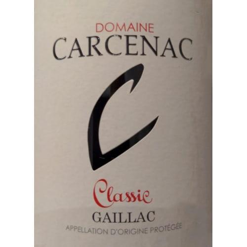 Gaillac Classic Domaine Carcenac 2017 – 750mL