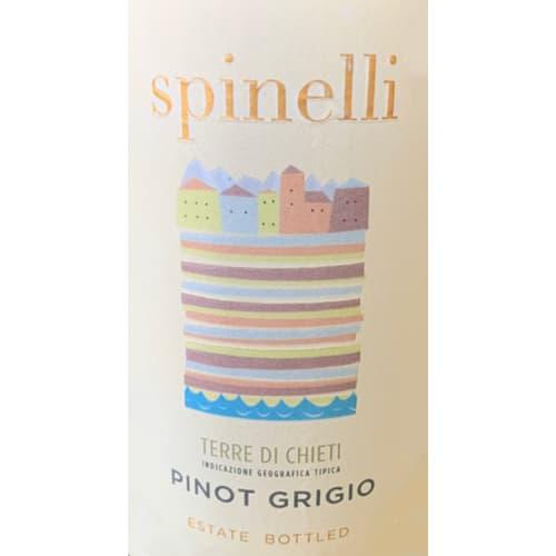Pinot grigio Terre di Chieti Spinelli 2018 – 750mL