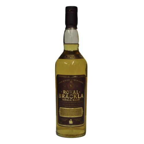 Single Malt Scotch Whisky  Royal Brackla – 700mL