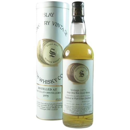 Highland Single Malt Scotch Whisky Signatory Vintage 21 years  Glentauchers 1975 – 700mL