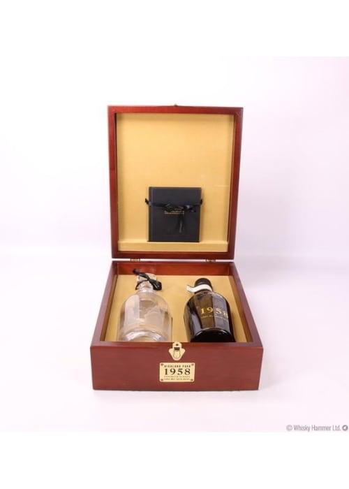 Orkney Island Single Malt Scotch Whisky Highland Park 1958 – 700mL