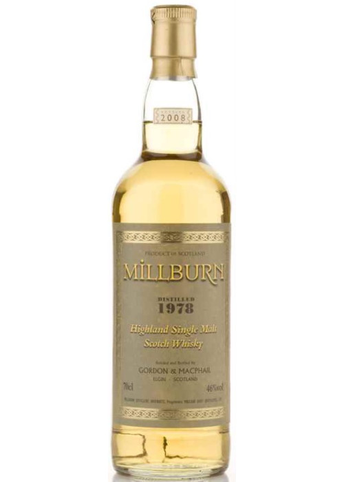 Single Malt Scotch Whisky Milburn  Gordon & Mac Phail 1978 – 700mL