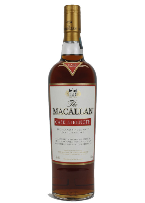 Cask Strength Highland Single Malt Scotch Whisky The Macallan – 750mL