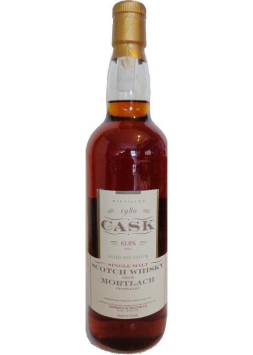 Single Malt Scotch Whisky Mortlach Cask Strenght  Gordon & Mac Phail 1980 – 700mL