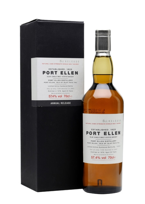 Single Malt Scotch Whisky 25 years Fifth Release   Port Ellen 1979 – 700mL
