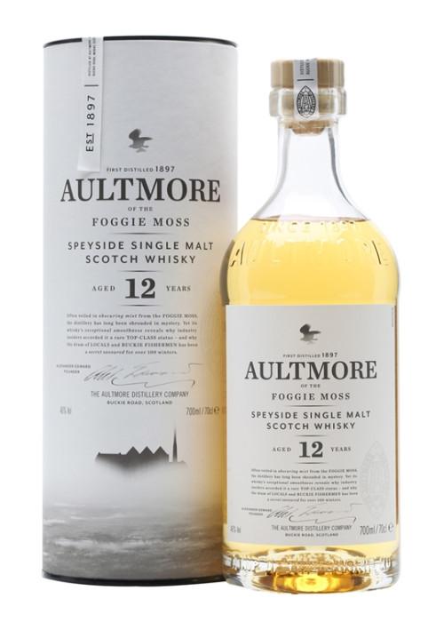 Single Malt Scotch Whisky 12 years Aultmore – 700mL
