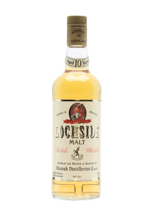 Single Malt Scotch Whisky 10 years  Lochside – 700mL