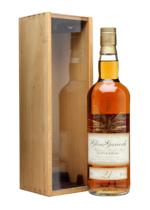 Single Malt Scotch Whisky 21 years Glen Garioch – 700mL