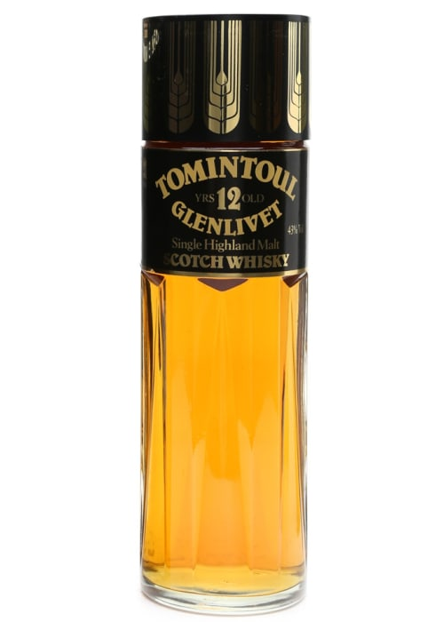 Highland Single Malt Scotch Whisky 12 years Glenlivet Tomintoul – 700mL
