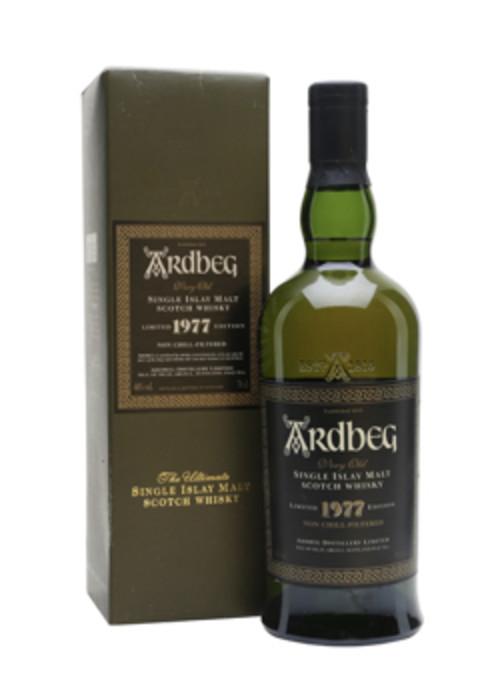 Single Malt Scotch Whisky Very Old Ardbeg 1977 – 700mL