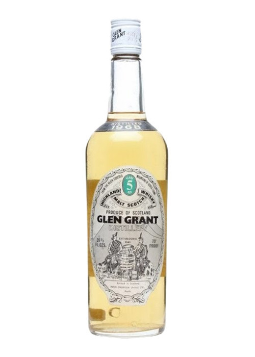 Single Malt Scotch Whisky 5 years  Glen Grant 1987 – 700mL