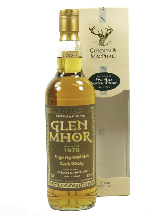 Highland Single Malt Scotch Whisky  Glen Mhor 1979 – 700mL