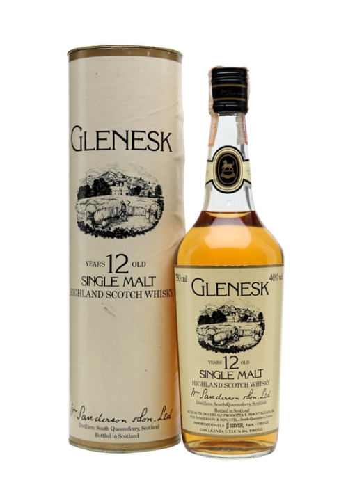 Single Malt Scotch Whisky 12 years  Glenesk – 750mL
