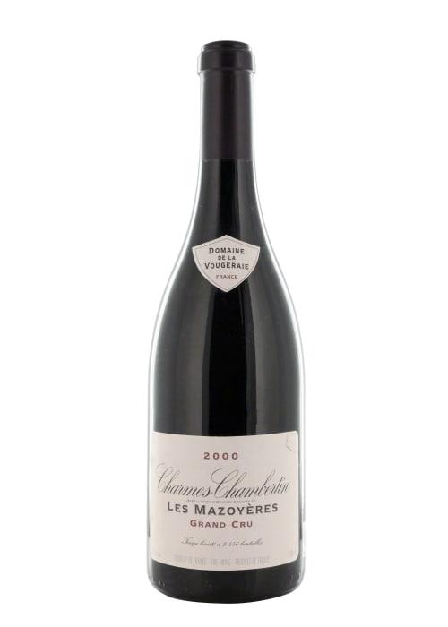 Charmes-Chambertin Grand cru Les Mazoyères Domaine de la Vougeraie 1999 – 750mL