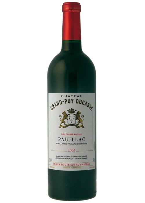 Pauillac Grand cru classé Château Grand-Puy Ducasse 2010 – 750mL
