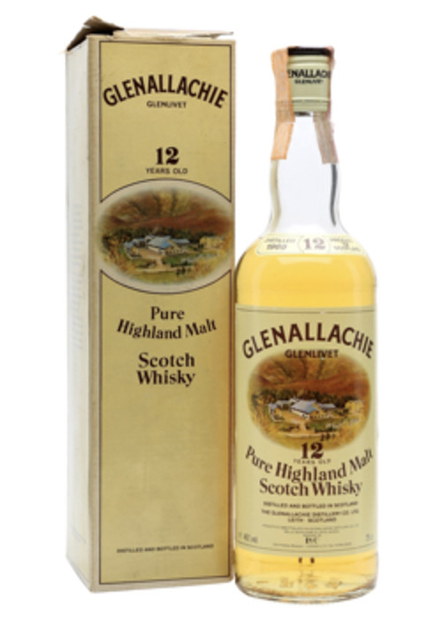 Highland Single Malt Scotch Whisky 12 years  Glenallachie – 700mL