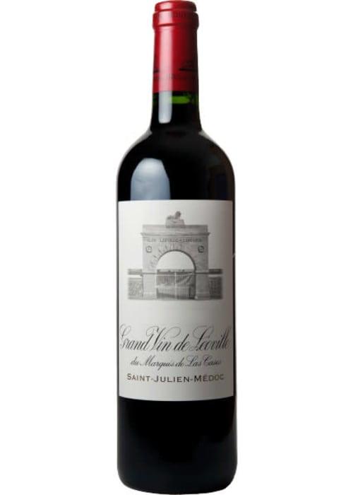 Saint-Julien Grand cru classé Grand Vin de Léoville du Marquis de Las Cases Château Léoville Las Cases 2007 – 750mL