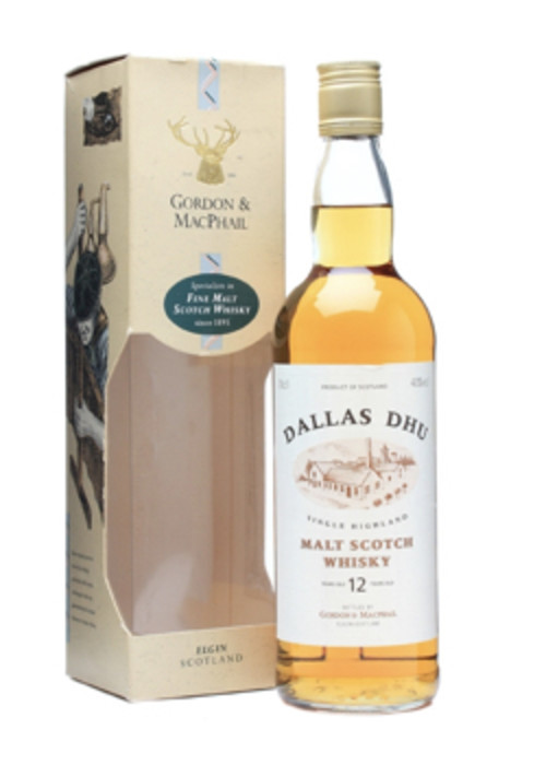Highland Single Malt Scotch Whisky 12 years Dallas Dhu – 700mL