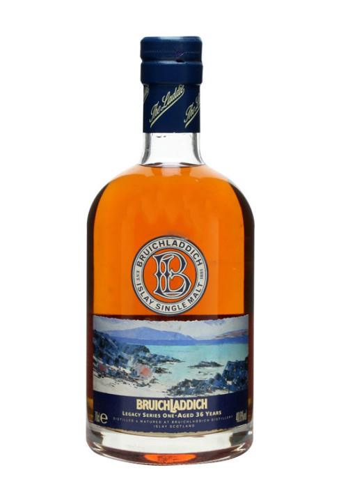 Single Malt Scotch Whisky Legacy Series One 36 years Bruichladdich – 700mL
