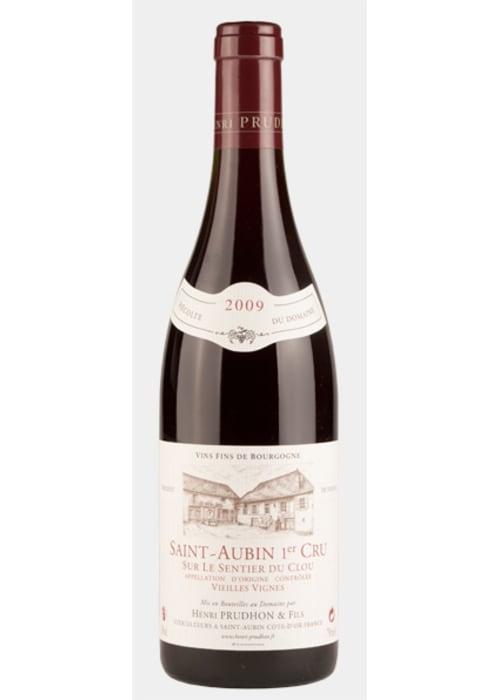 Saint-Aubin 1er cru Sur le Sentier du Clou Vieilles Vignes Domaine Henri Prudhon & Fils 2013 – 750mL