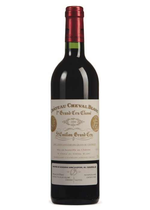 Saint-Emilion Grand Cru 1er grand cru classé «A» Château Cheval Blanc 1999 – 750mL