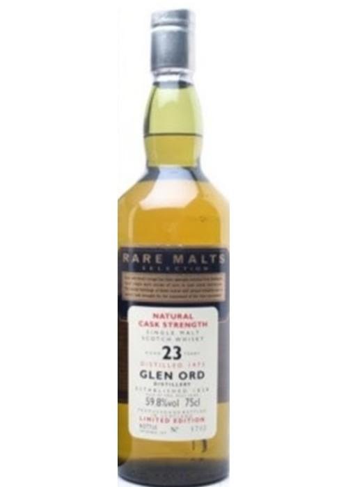 Single Malt Scotch Whisky Natural Cask Strength Rare Malts Selection 23 years Glen Ord 1974 – 700mL