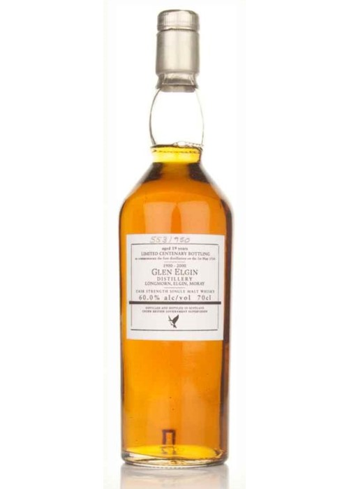 Single Malt Scotch Whisky Centenary Bottling 19 years   Glen Elgin – 700mL