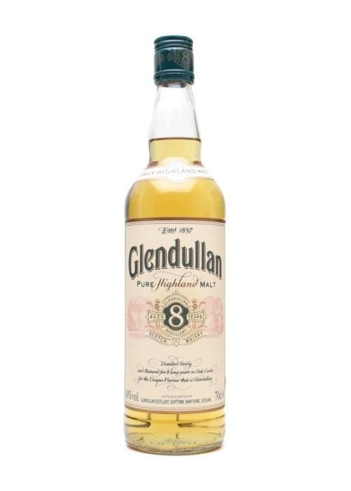 Highland Single Malt Scotch Whisky 8 years Glendullan – 700mL