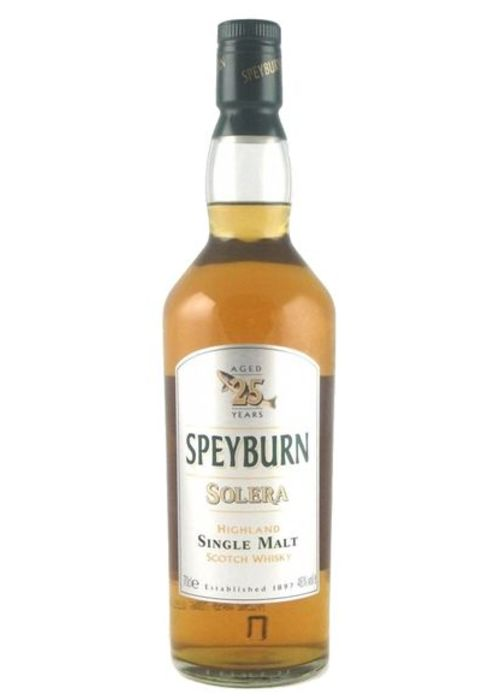 Single Malt Scotch Whisky Solera 25 years Speyburn – 700mL