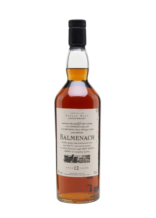 Single Malt Scotch Whisky 12 years Balmenach – 700mL