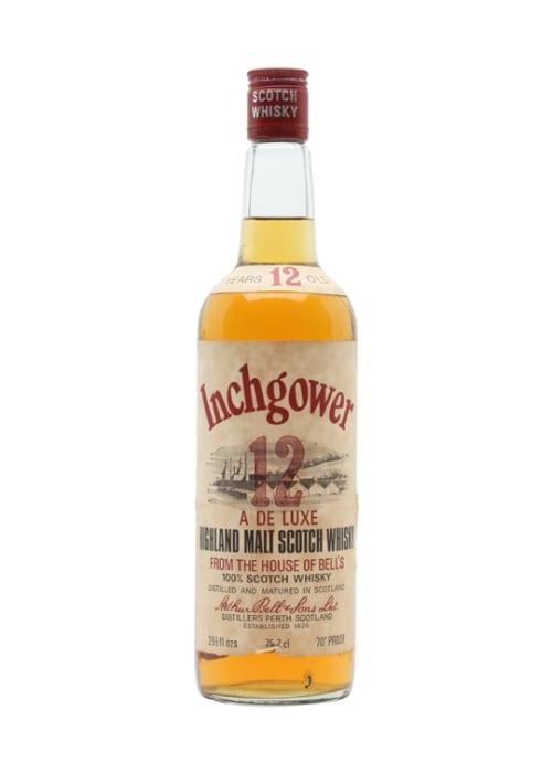 Single Malt Scotch Whisky 12 years  Inchgower – 700mL